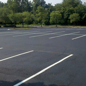 latest projects - parking lot